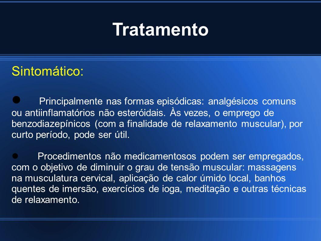 Tratamento Sintomático: