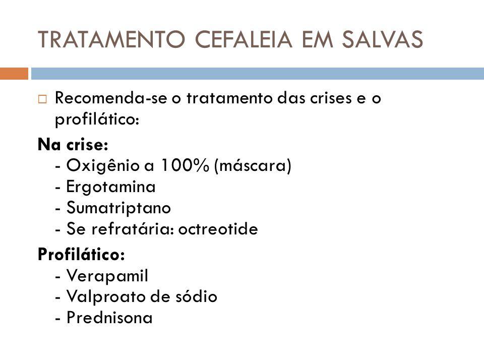TRATAMENTO CEFALEIA EM SALVAS