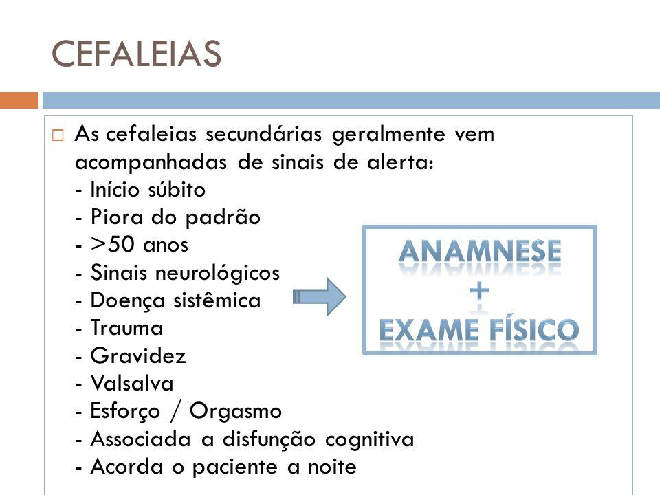 Anamnese + Exame Físico