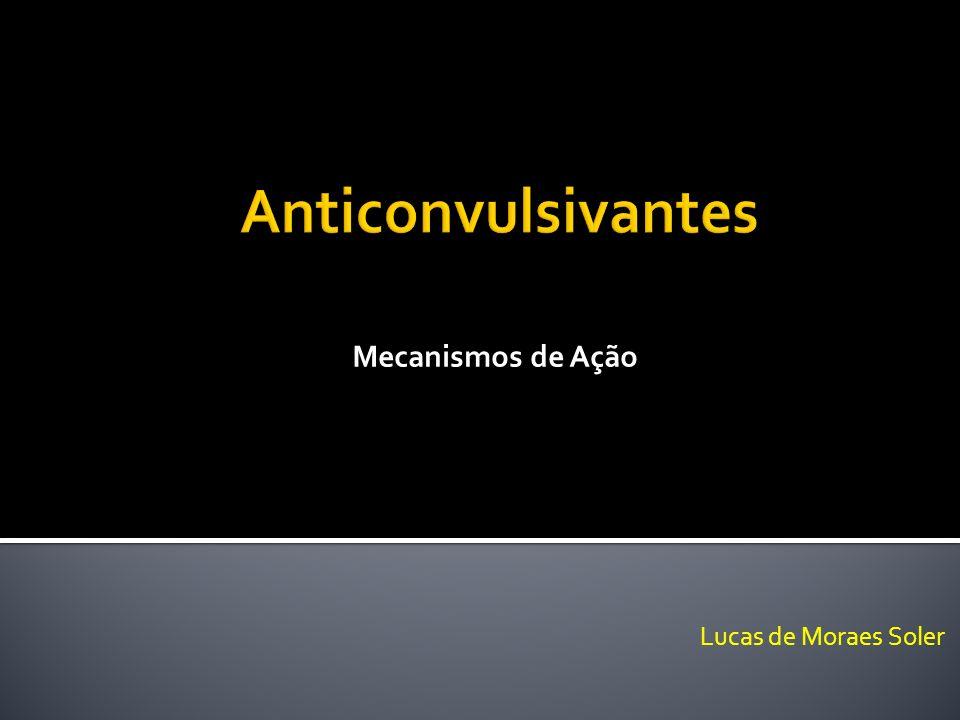 Mecanismos de Ação Anticonvulsivantes Lucas de Moraes Soler