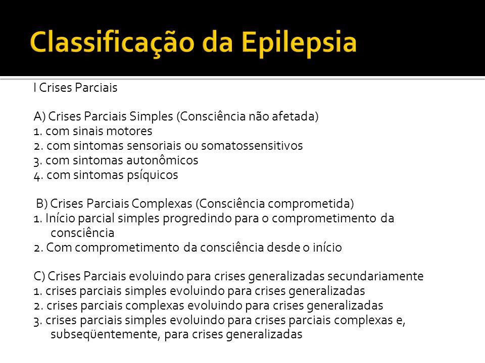 Classificação da Epilepsia