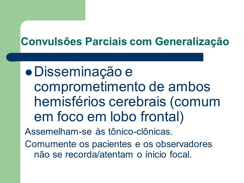 Convulsões Parciais com Generalização