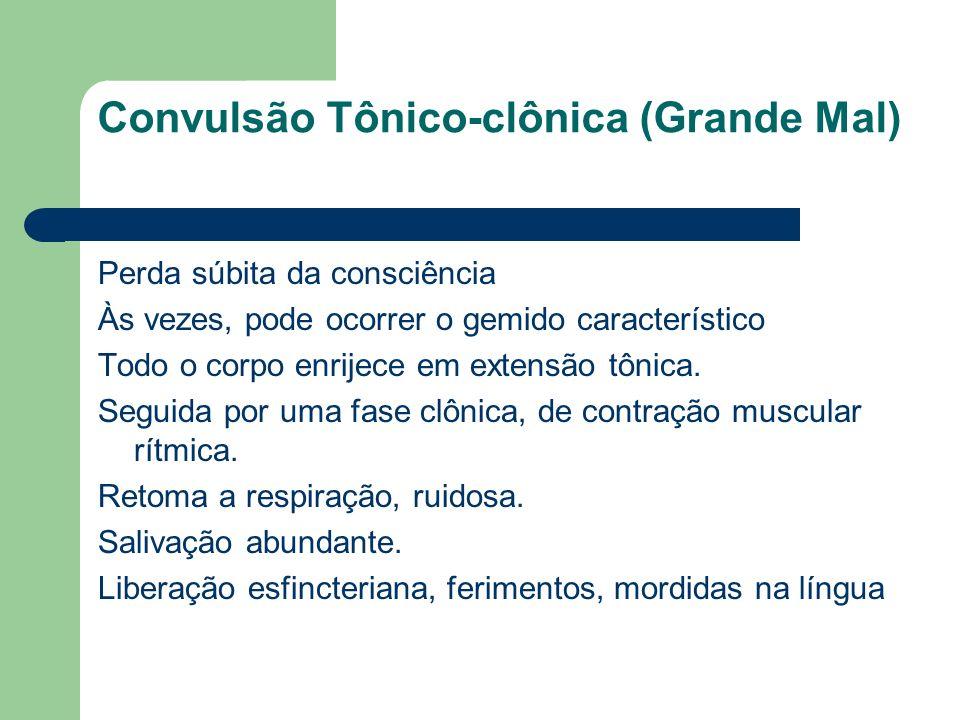 Convulsão Tônico-clônica (Grande Mal)