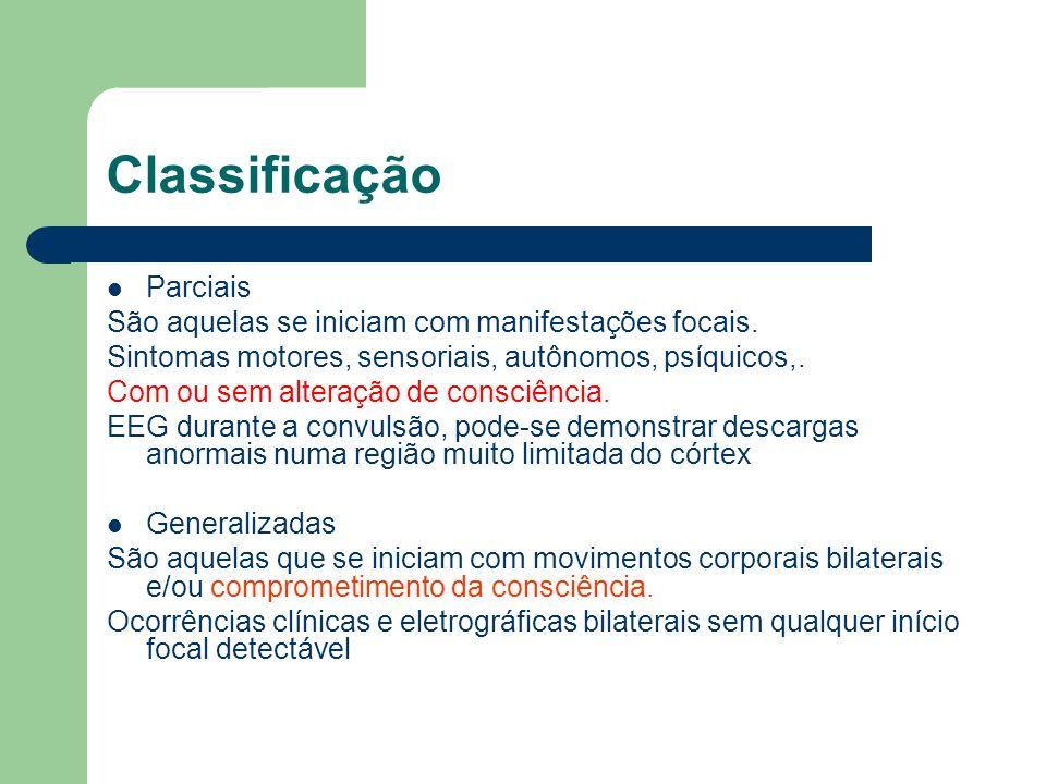 Classificação Parciais
