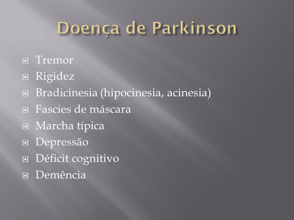 Doença de Parkinson Tremor Rigidez