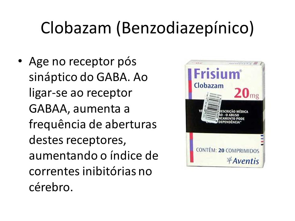 Clobazam (Benzodiazepínico)