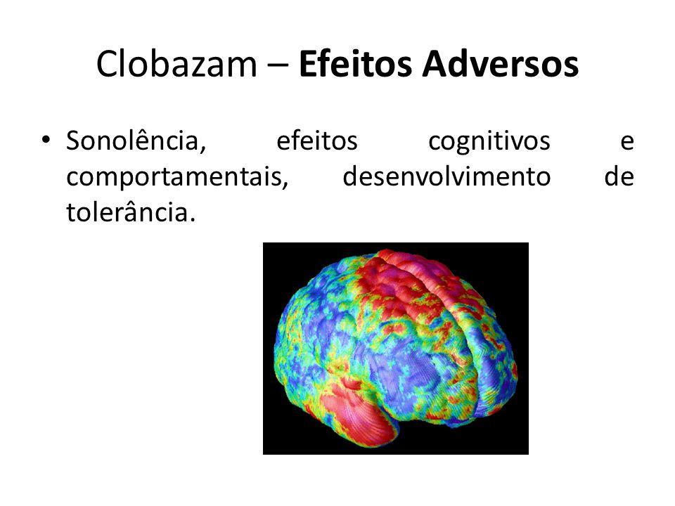 Clobazam – Efeitos Adversos