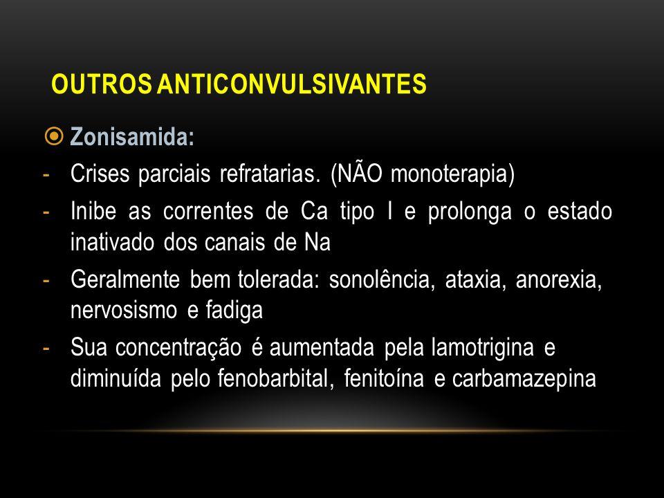 Outros Anticonvulsivantes