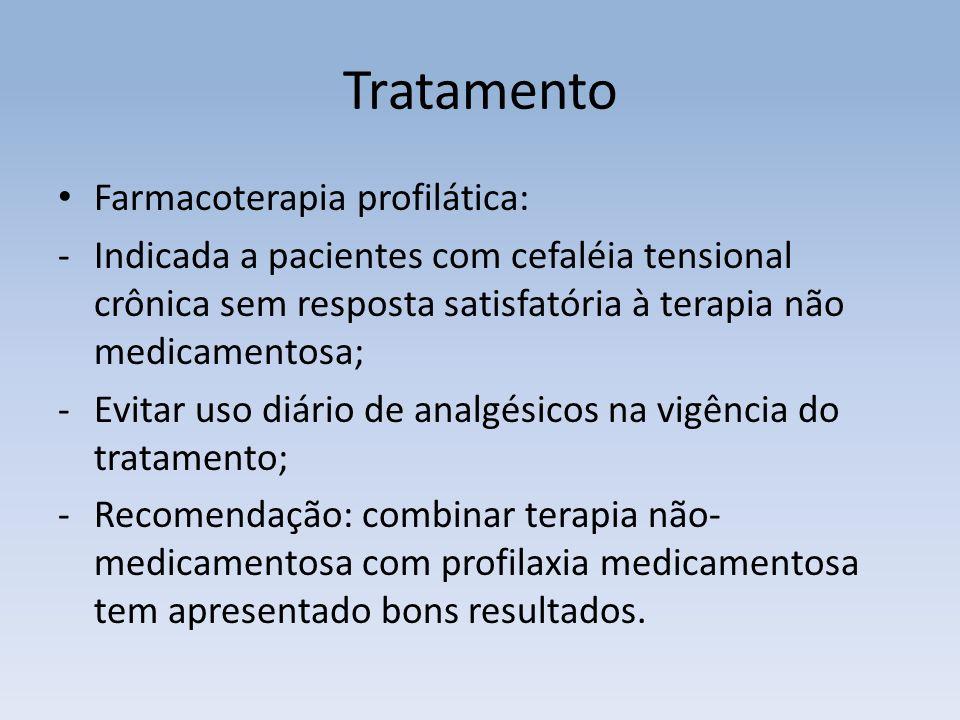 Tratamento Farmacoterapia profilática: