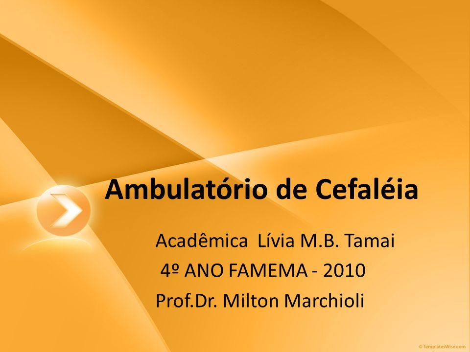 Ambulatório de Cefaléia