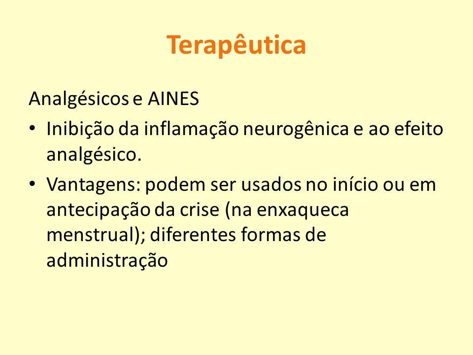 Terapêutica Analgésicos e AINES