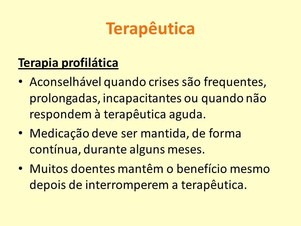 Terapêutica Terapia profilática