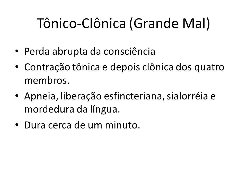 Tônico-Clônica (Grande Mal)