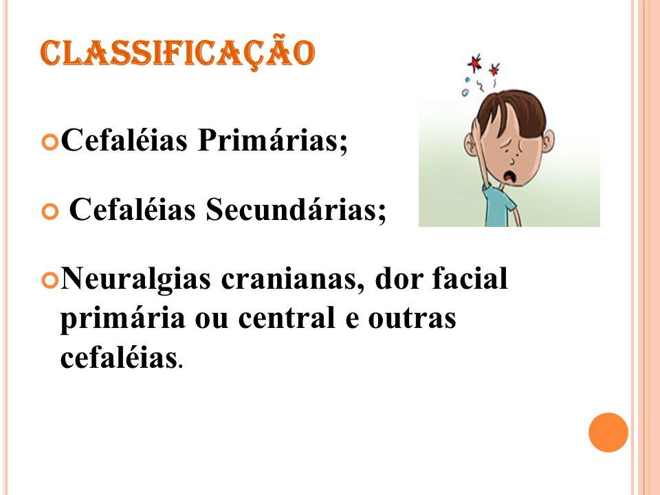 Cefaléias Secundárias;