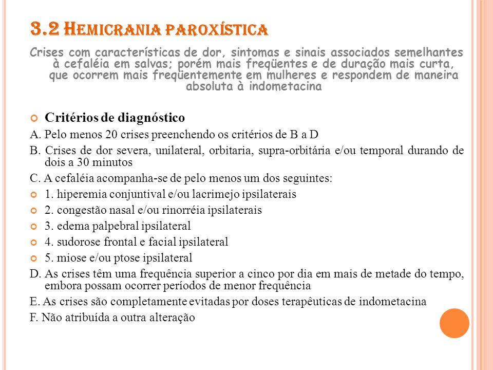 3.2 Hemicrania paroxística