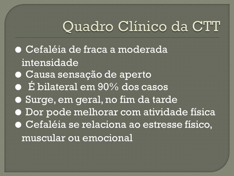 Quadro Clínico da CTT