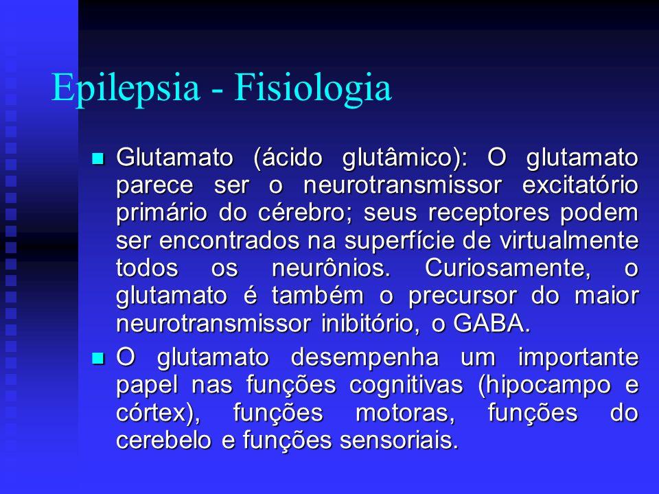 Epilepsia - Fisiologia