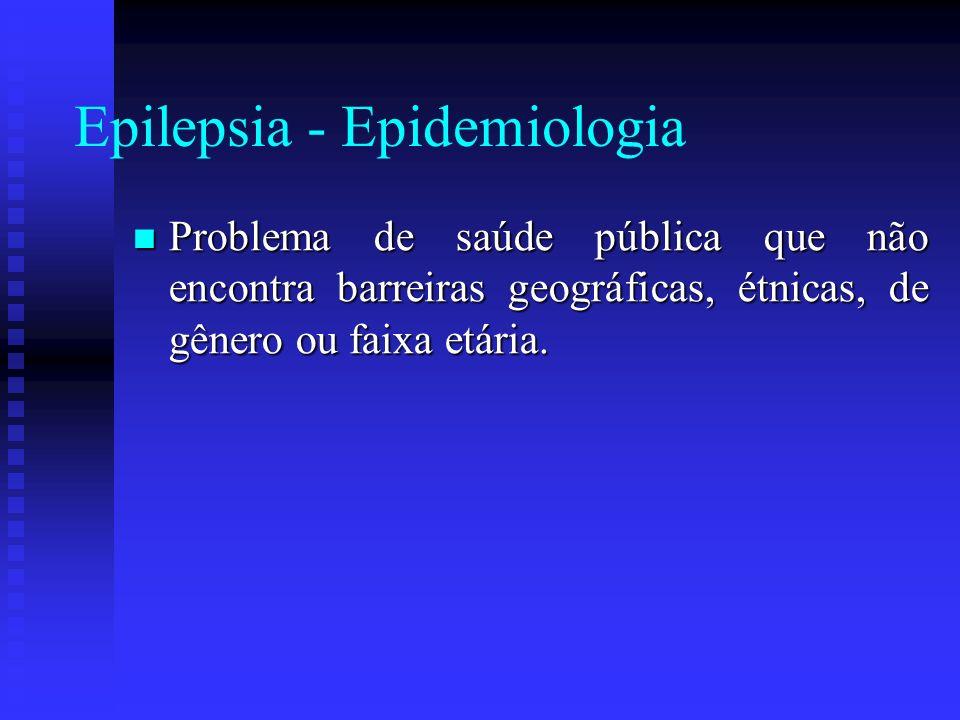 Epilepsia - Epidemiologia