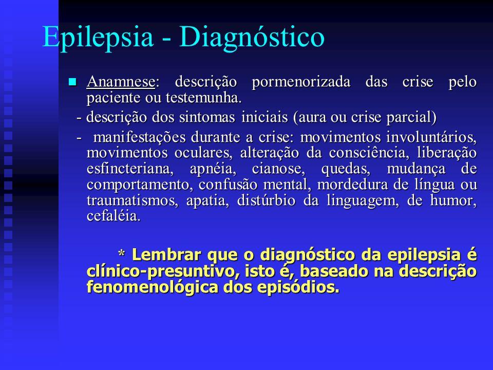 Epilepsia - Diagnóstico