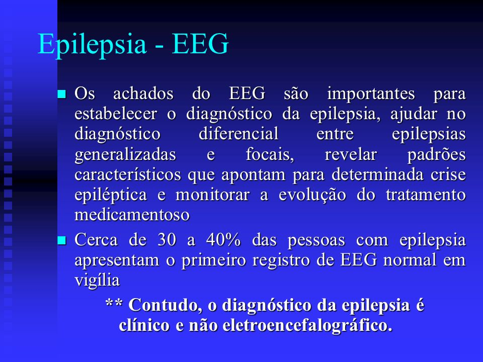 Epilepsia - EEG