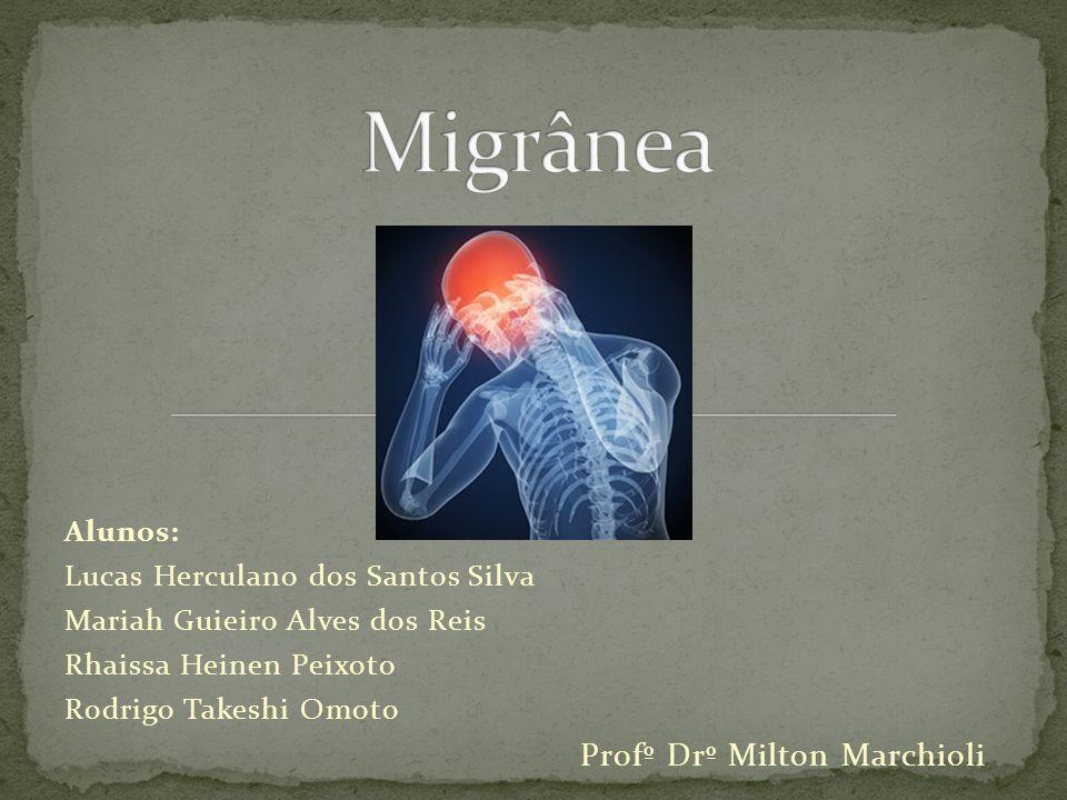 Migrânea Alunos: Lucas Herculano dos Santos Silva