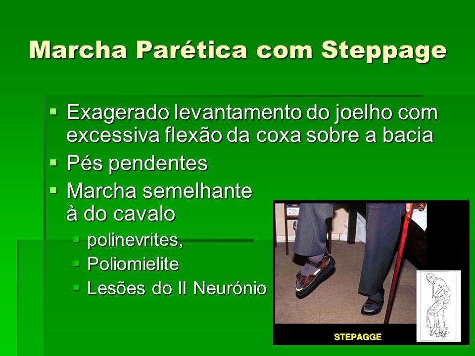 Marcha Parética com Steppage