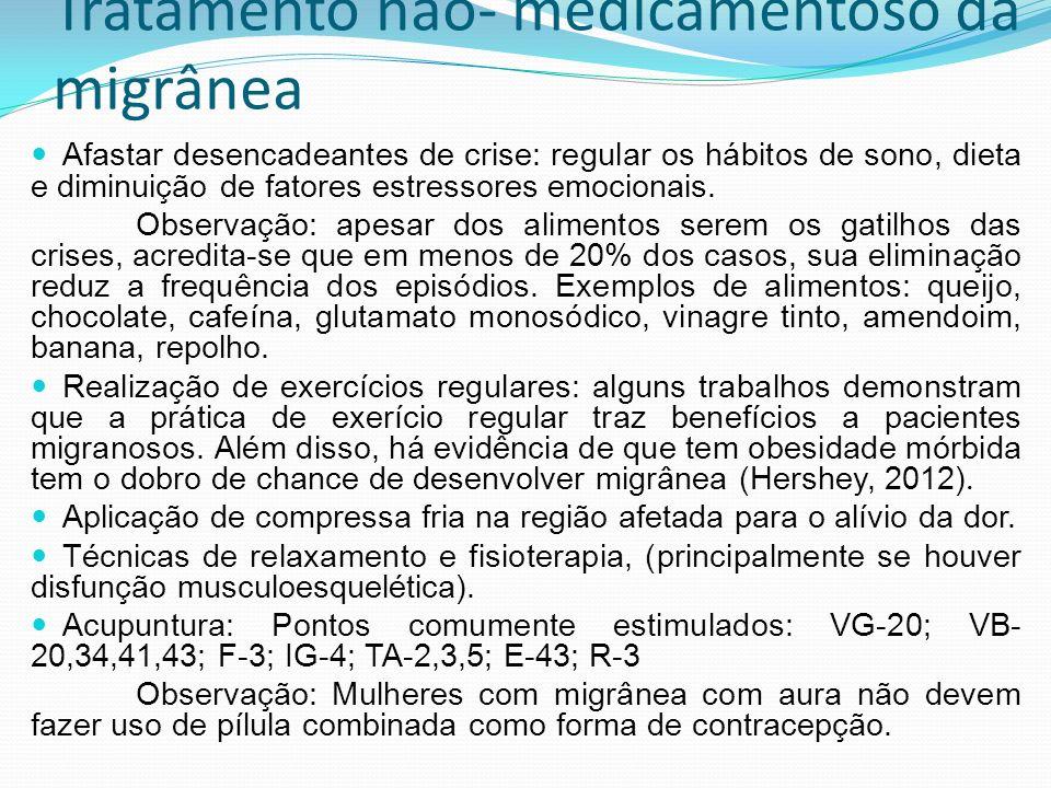 Tratamento não- medicamentoso da migrânea