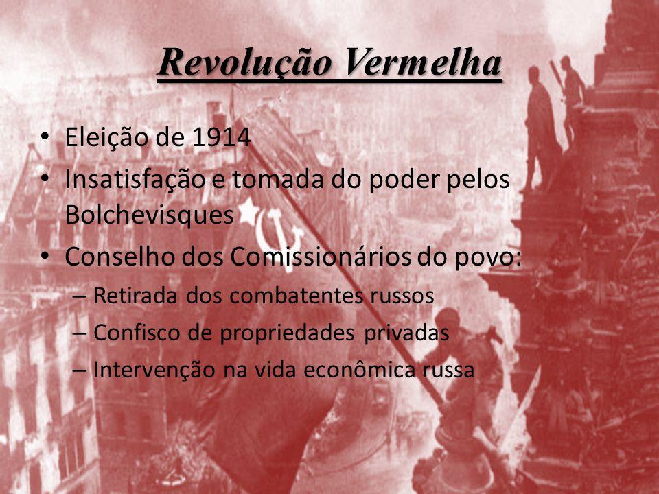 Revolução Vermelha Eleição de 1914