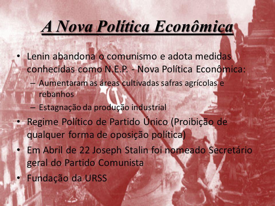 A Nova Política Econômica