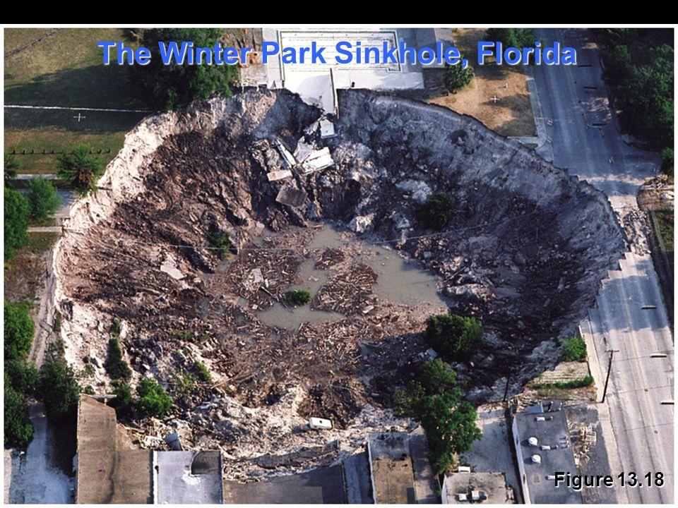 The Winter Park Sinkhole, Florida
