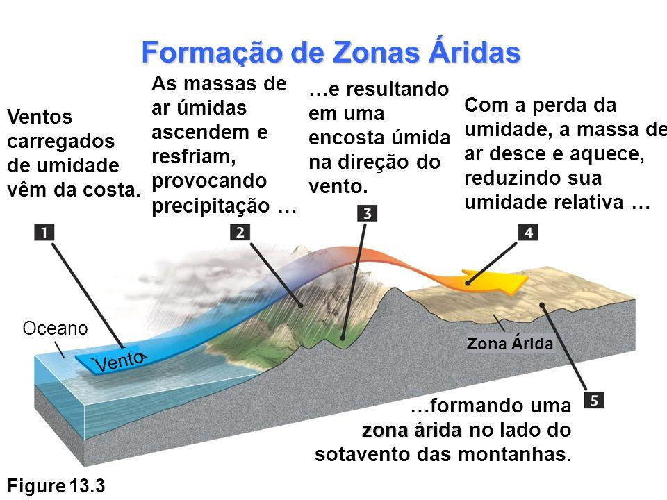 Formação de Zonas Áridas