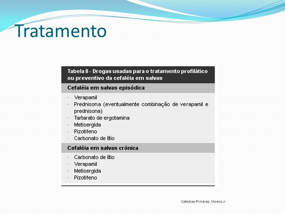 Tratamento Cefaléias Primárias, Moreira Jr