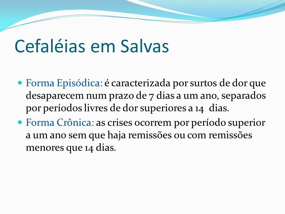 Cefaléias em Salvas