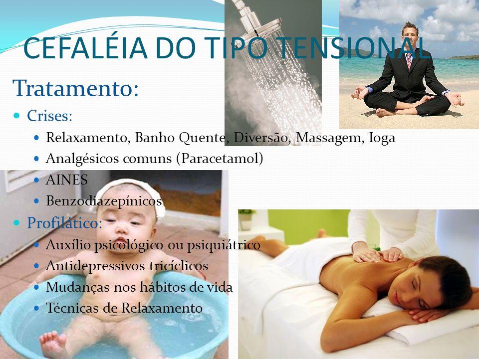CEFALÉIA DO TIPO TENSIONAL