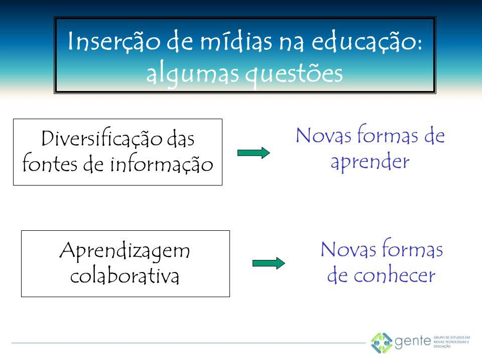 Diversificação das fontes de informação
