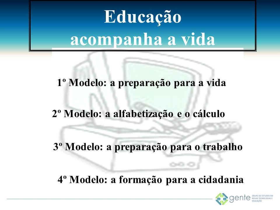 Educação acompanha a vida