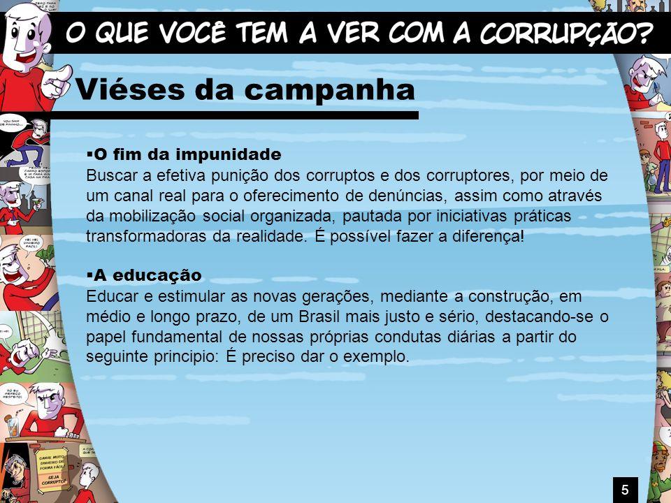 Viéses da campanha O fim da impunidade