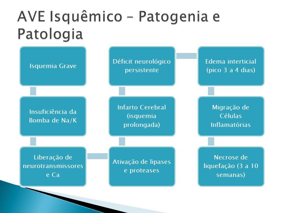 AVE Isquêmico – Patogenia e Patologia
