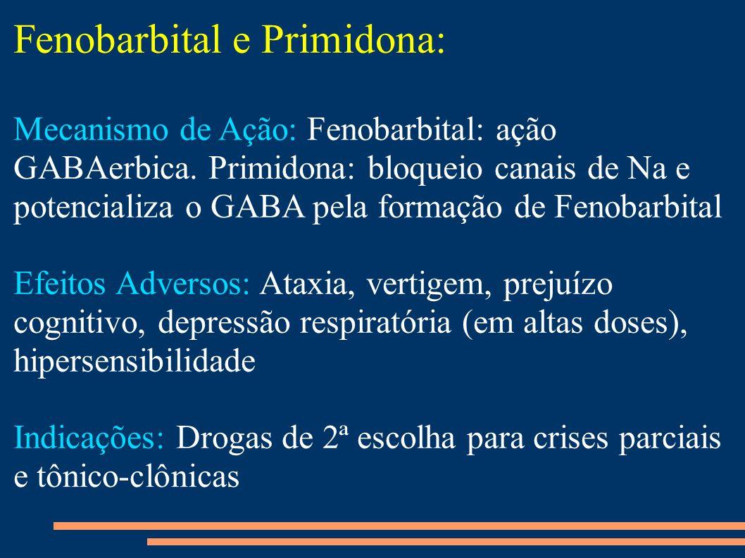 Fenobarbital e Primidona: