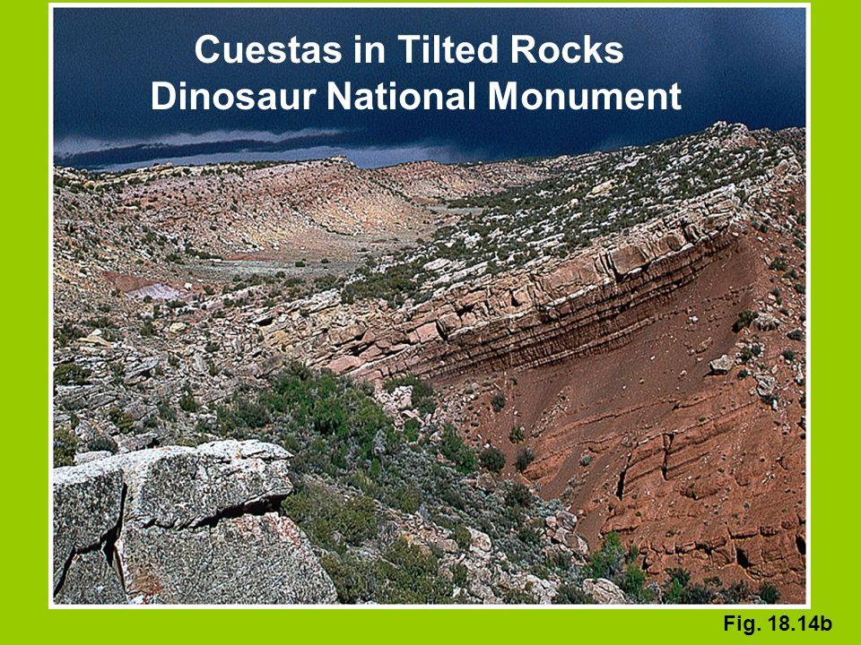 Cuestas in Tilted Rocks Dinosaur National Monument