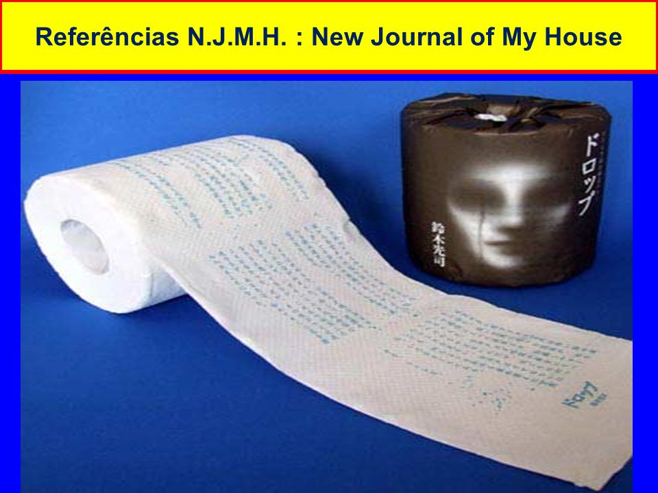 Referências N.J.M.H. : New Journal of My House