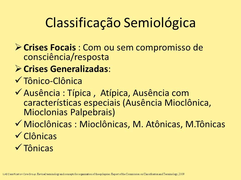 Classificação Semiológica