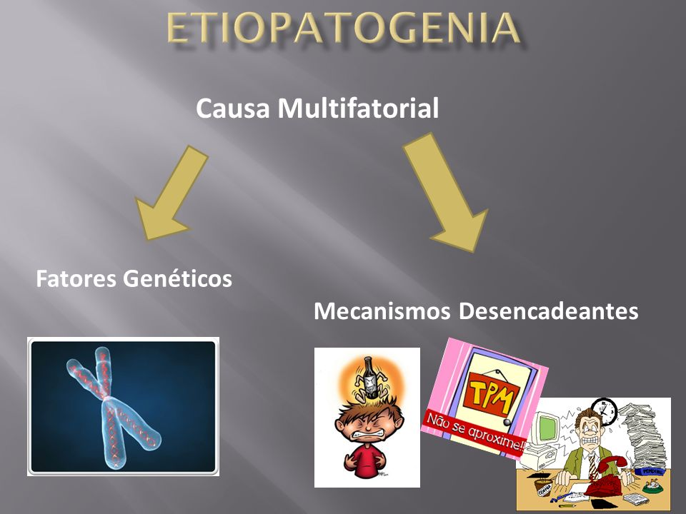 Etiopatogenia Causa Multifatorial Fatores Genéticos