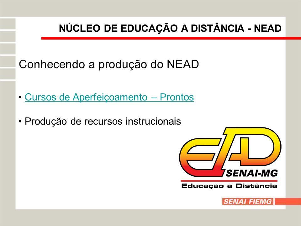 Conhecendo a produção do NEAD