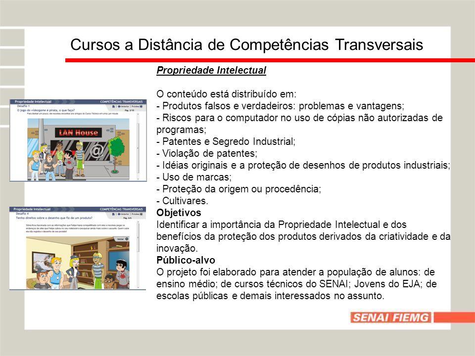 Cursos a Distância de Competências Transversais