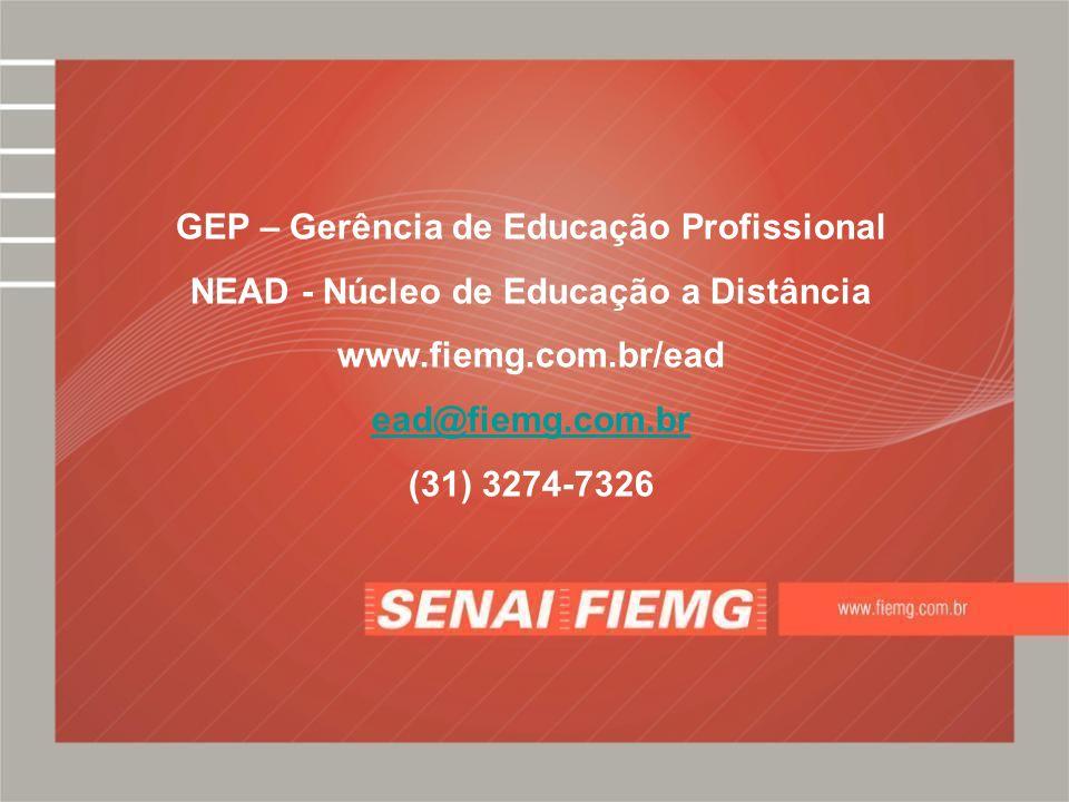 GEP – Gerência de Educação Profissional