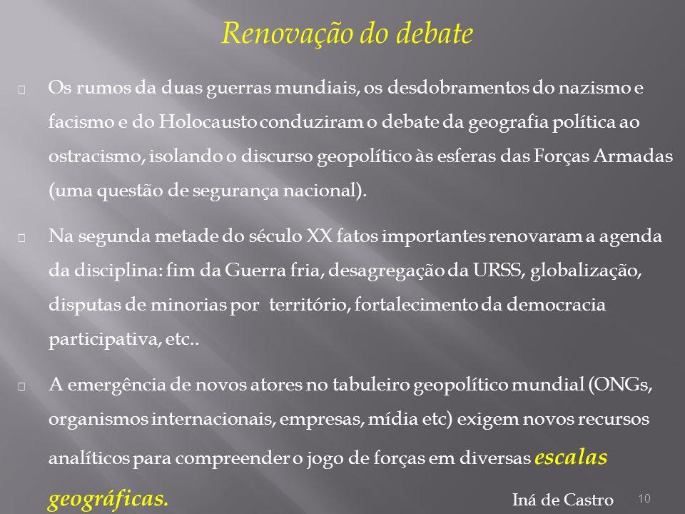 Renovação do debate