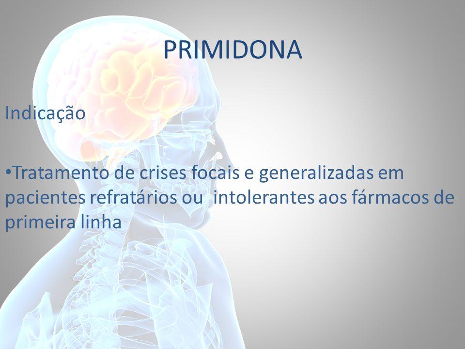 PRIMIDONA Indicação.