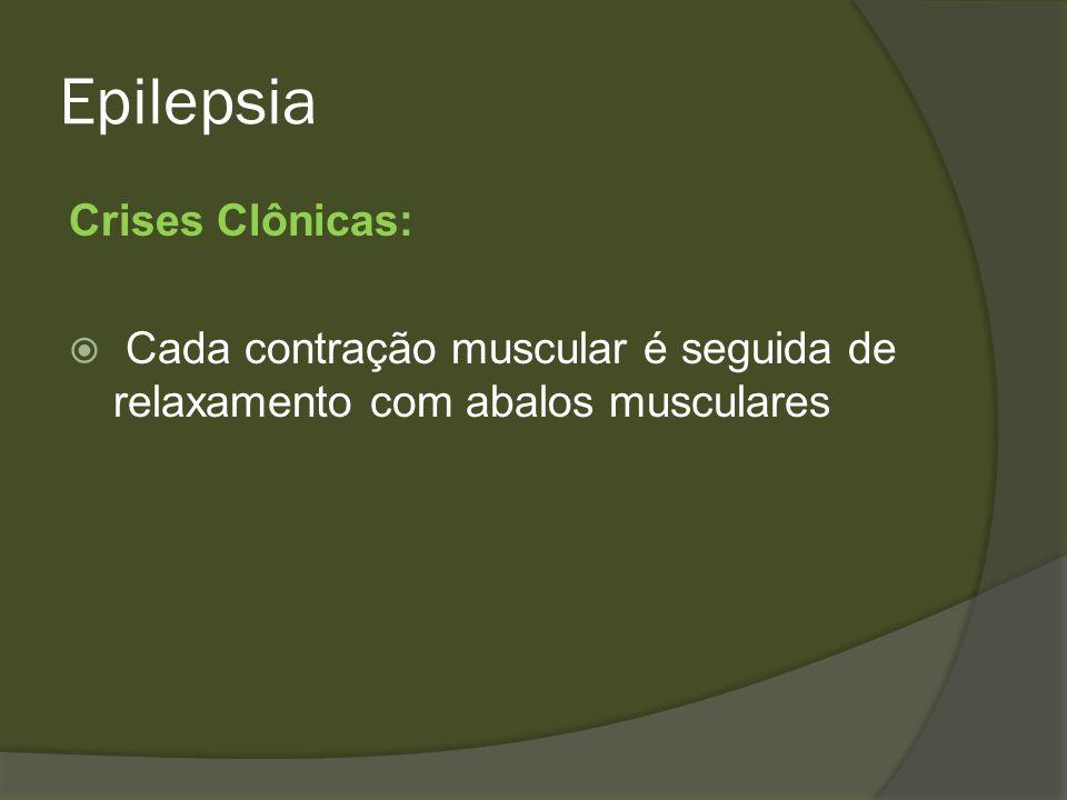 Epilepsia Crises Clônicas: