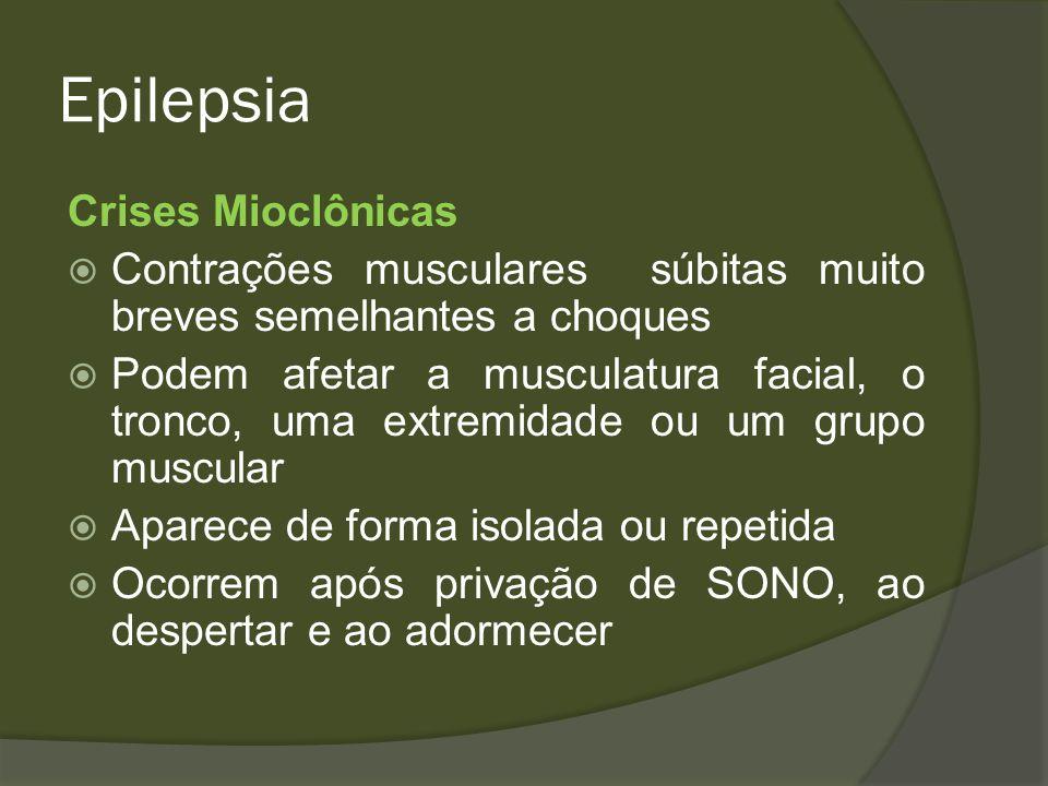 Epilepsia Crises Mioclônicas